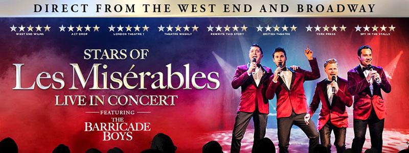 Stars of Les Misérables in Concert